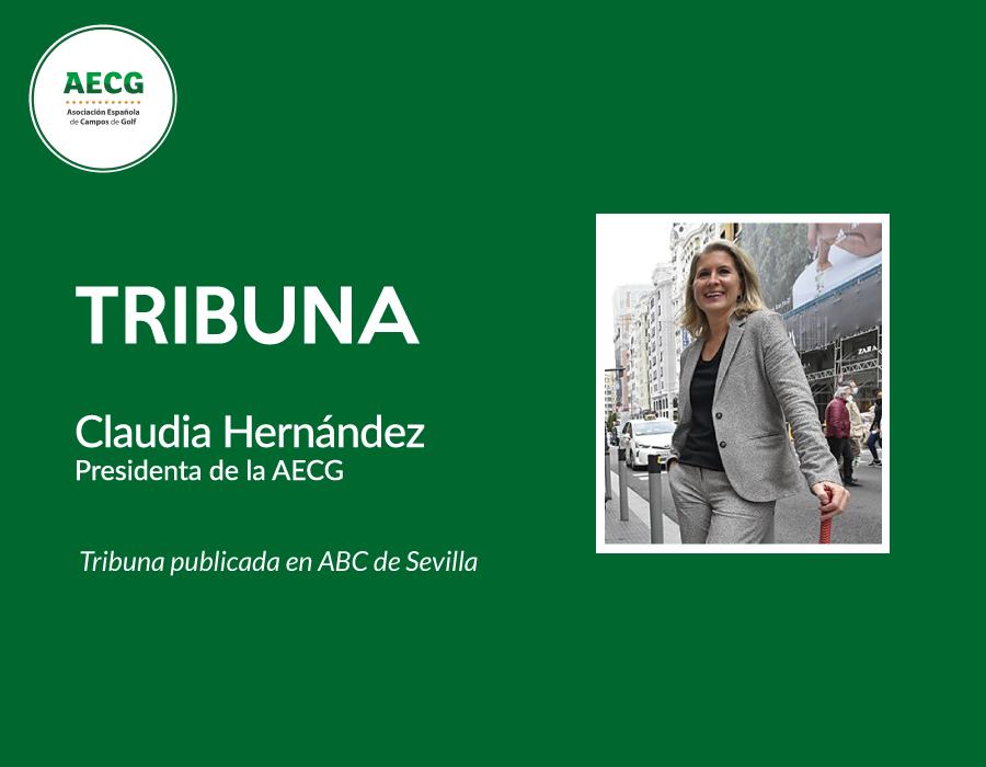 Claudia Hernández: Los tres grados de separación del golf en Andalucía