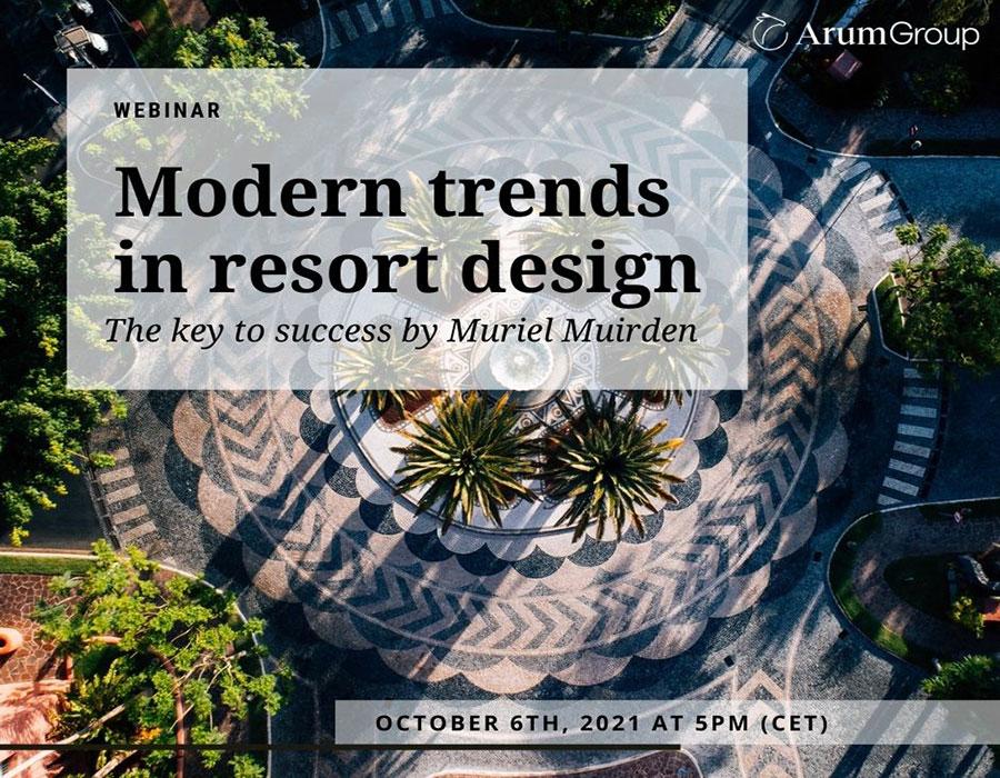 Webinar 'Nuevas tendencias en el diseño de resorts