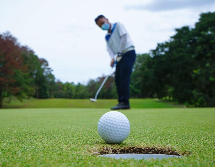 golf deporte seguro