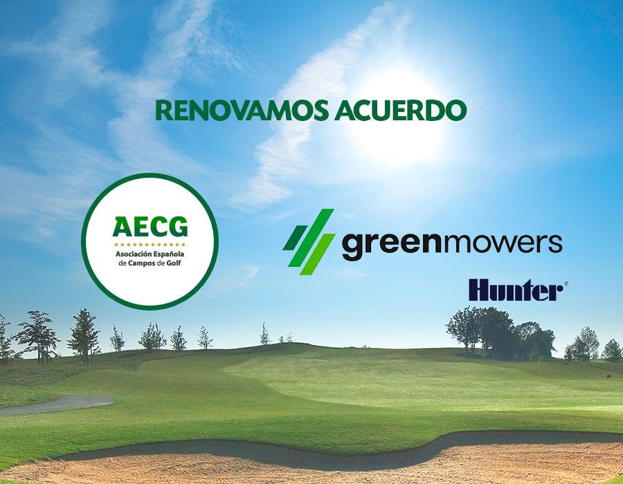 Green Mowers y la AECG renuevan su convenio de colaboración