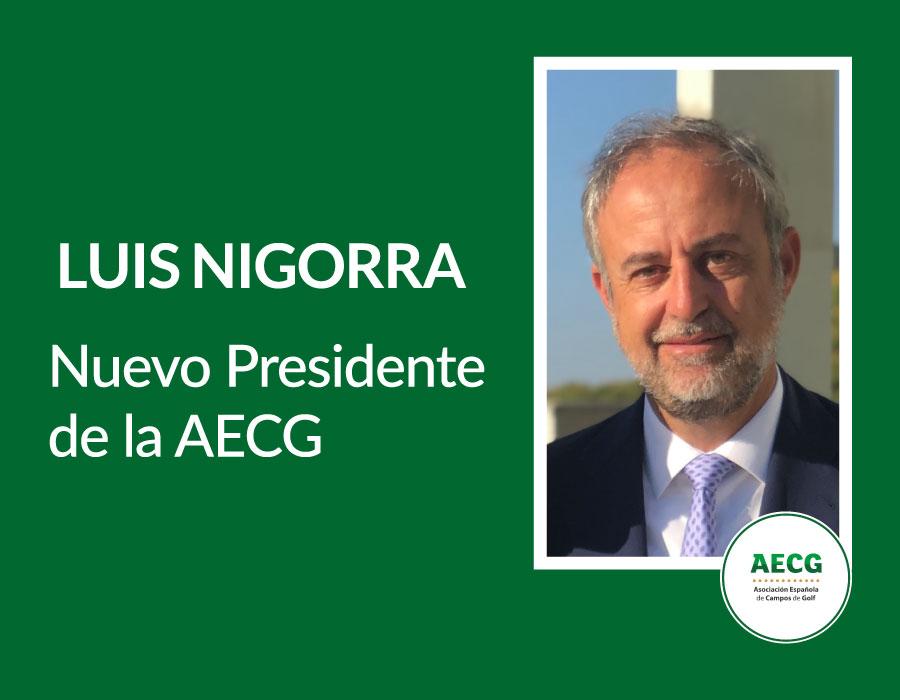 Luis Nigorra, nuevo presidente de la AECG